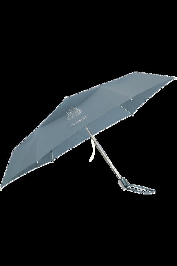 Samsonite Karissa Umbrellas 3 Sect. Auto O/C Slim  Dusty Blue