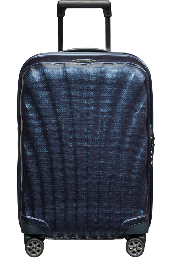 Samsonite C-Lite Spinner Expandable 55cm  Midnight Blue