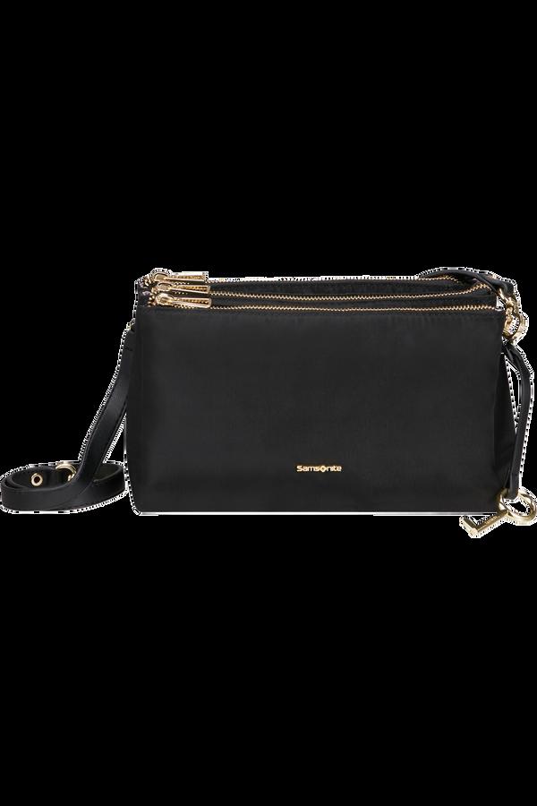 Samsonite Skyler Pro Horizontal Shoulder Bag 3 Comp S  Noir