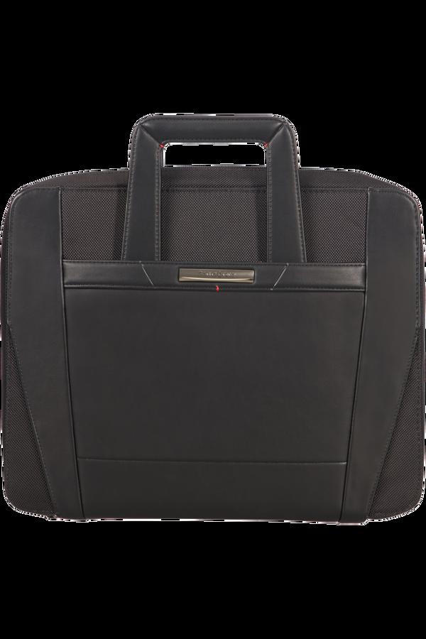 Samsonite Stationery Pro-Dlx 5 Zip Folder A4 Ret H+Det B  Noir