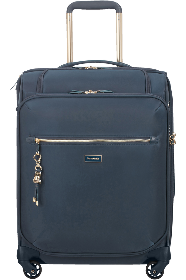 Samsonite Karissa Biz MOB.OFF.Spinner Quickaccess 55cm  Bleu foncé