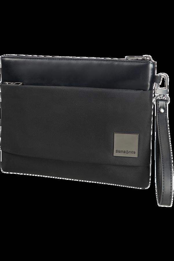 Samsonite Hip-Square Flat Tablet Clutch M 20cm/7.9inch Schwarz