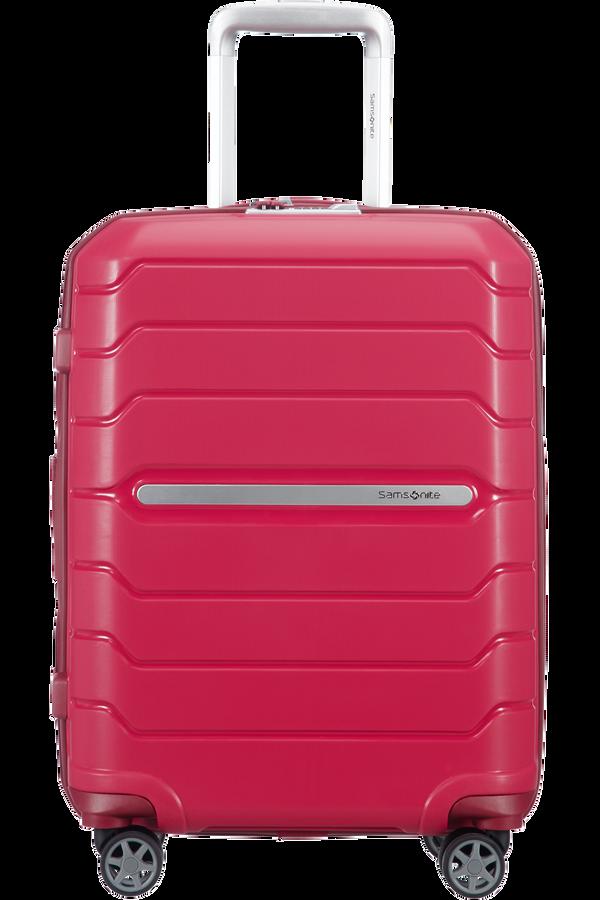 Samsonite Flux Spinner Expandable 55cm  Granita Red