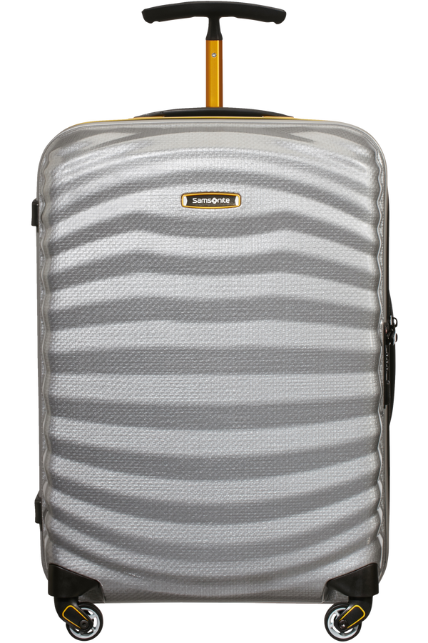 Samsonite Lite-Shock Sport Spinner 55cm  Silver/Yellow
