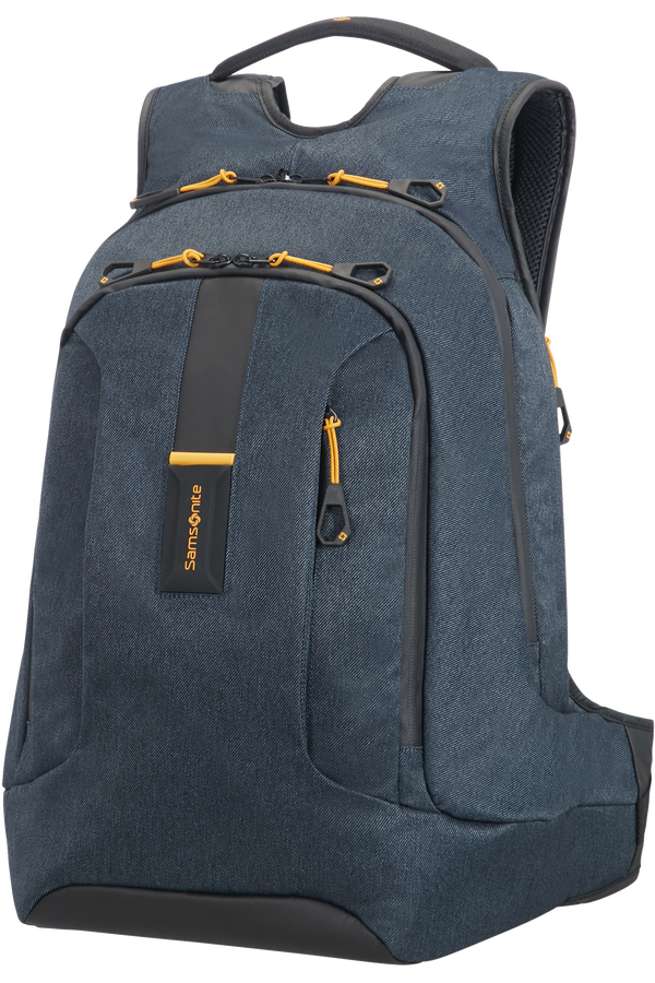 Samsonite Paradiver Light Sac à dos ordinateur L Plus 39.6cm/15.6inch Bleu jeans