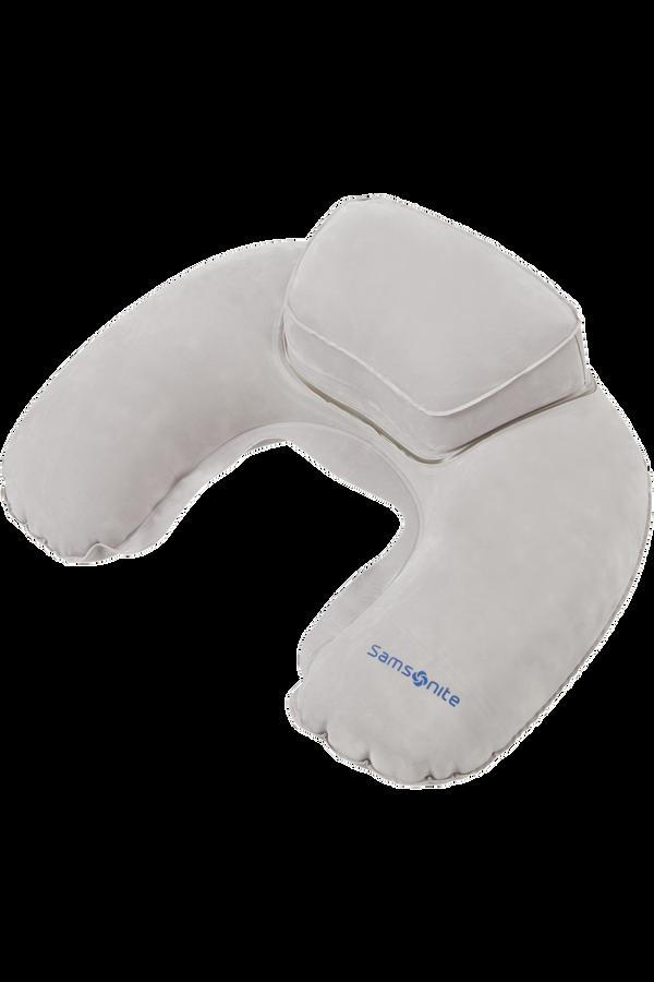 Samsonite Global Ta Double Comfort Pillow Gris