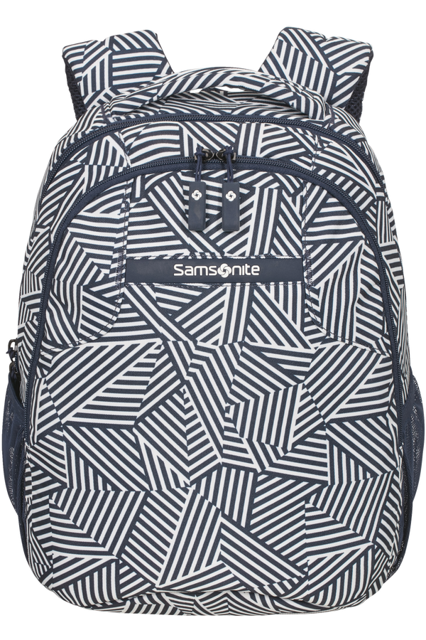 Samsonite Rewind Backpack S  Navy Blue Stripes