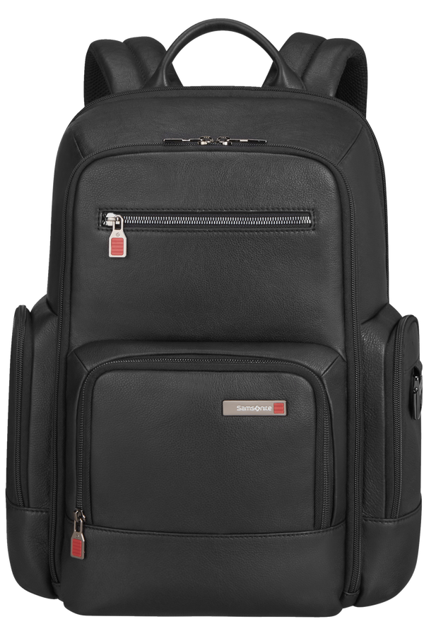 Samsonite Safton Lth Laptop Backpack  15.6inch Schwarz
