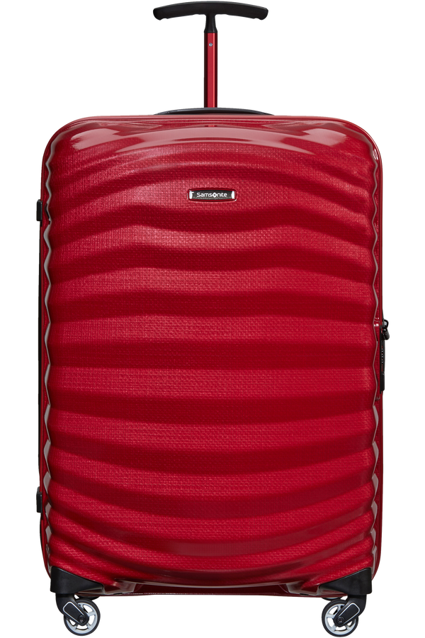 Samsonite Lite-Shock Sport Spinner 69cm  Bright Red/Silver