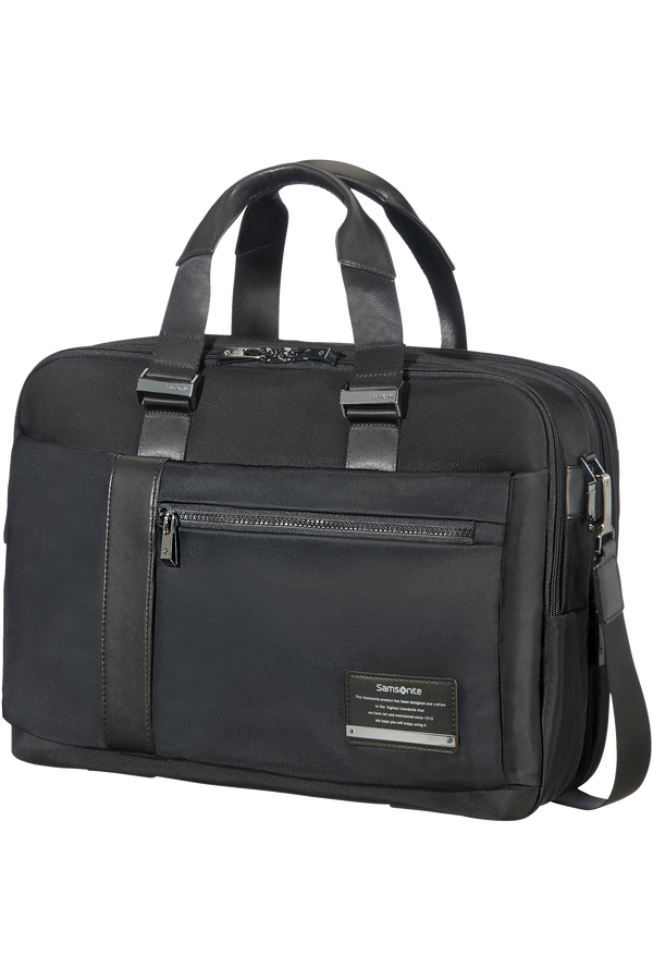 Samsonite Openroad Bailhandle extensible  39.6cm/15.6inch Jet noir