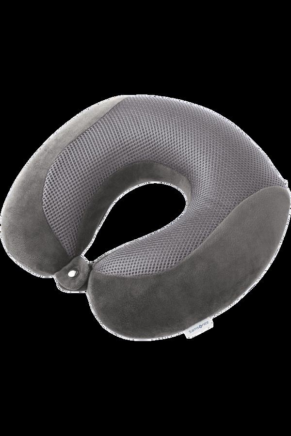 Samsonite Global Ta Memory Foam Pillow Cooler Eclipse Grey