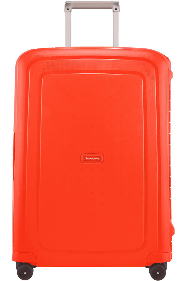 Samsonite S'Cure Spinner 69cm  Fluo Red Capri
