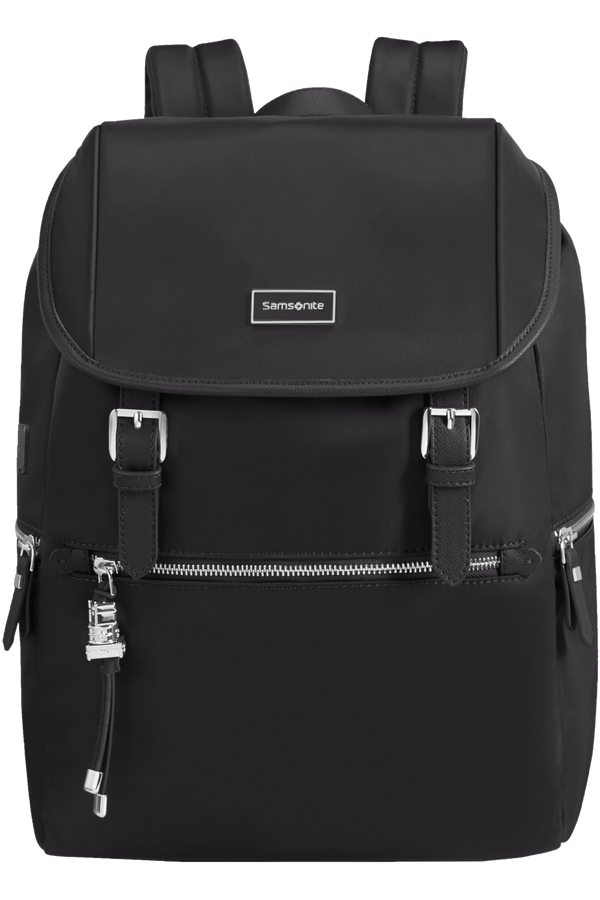 Samsonite Karissa Biz Backpack 14.1'+Flap W/Usb  Schwarz