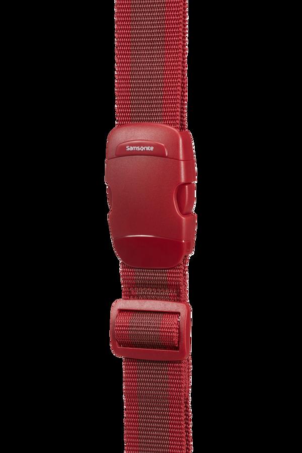 Samsonite Global Ta Luggage Strap 38mm Rot