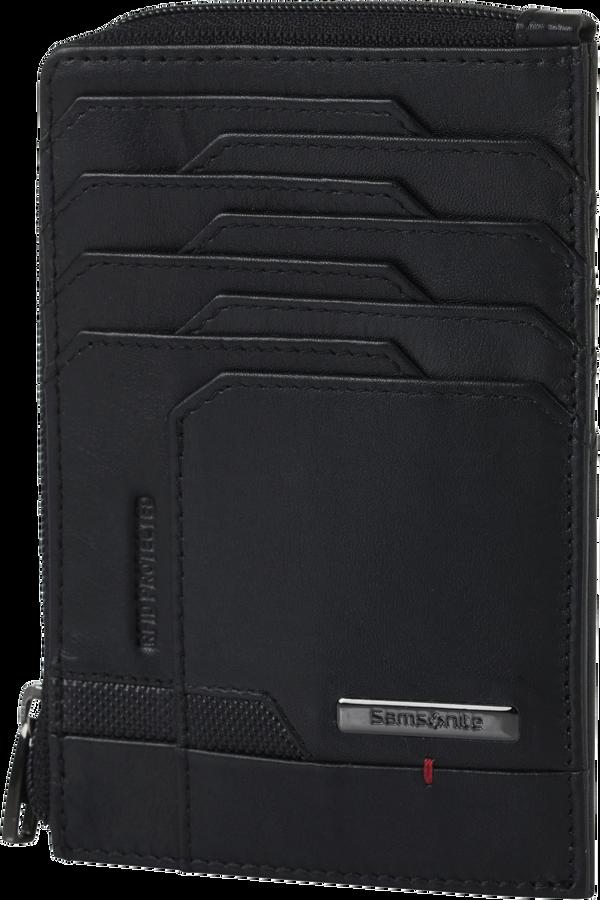 Samsonite Pro-Dlx 5 Slg 727-All in One Wallet Zip  Noir