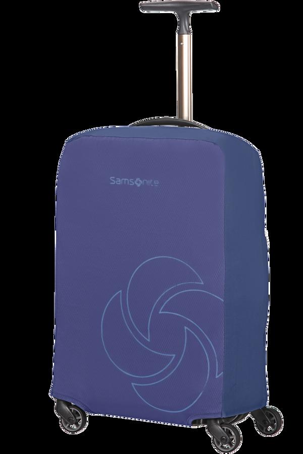 Samsonite Global Ta Foldable Luggage Cover S  Bleu nuit