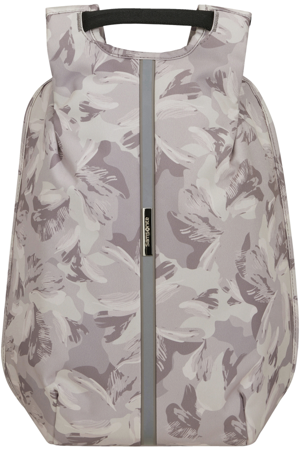 Samsonite Securipak S Laptop Backpack Print 14.1'  Lilac Grey/Camo