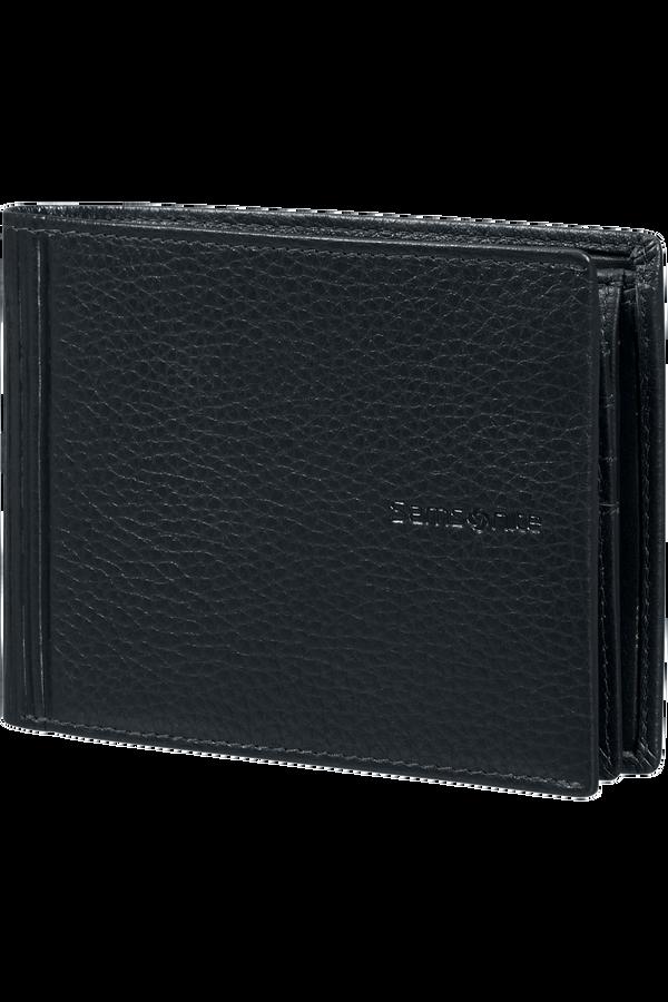 Samsonite Double Leather Slg 007 - B 7CC+VFL+C+2C+W  Noir