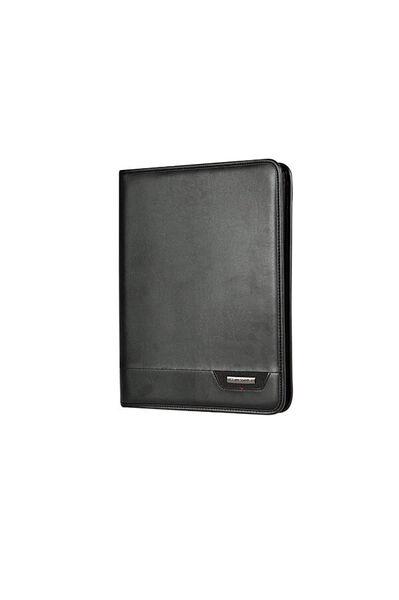 Stationery Pro-Dlx 4 Portfolio Noir