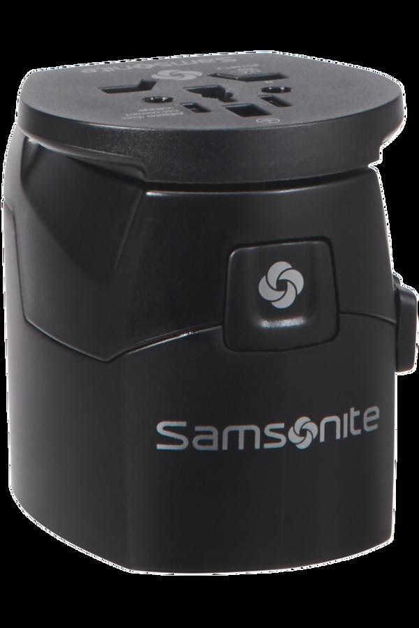 Samsonite Global Ta Worldwide Adapter Schwarz