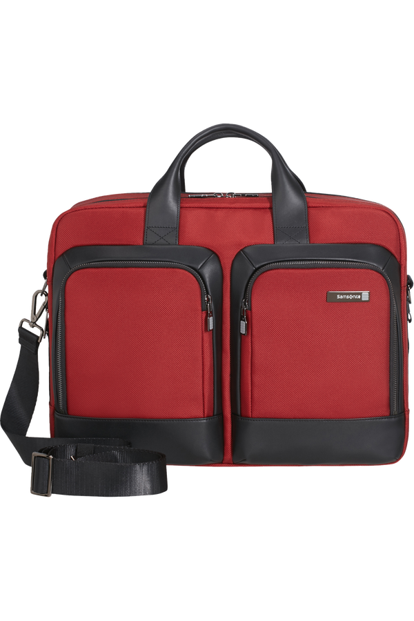 Samsonite Safton LP Bailhandle 2C 15.6'  Barn Red/Black