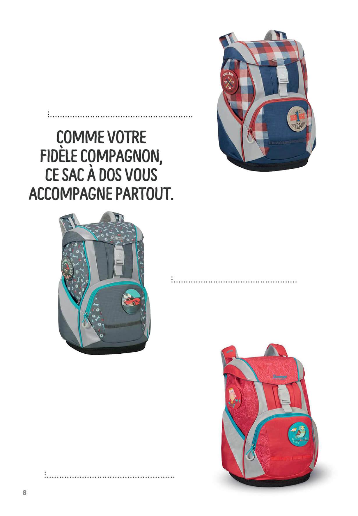 Chaque sac est unique comme chaque enfant qui le porte - Comme votre fidèle compagnon, ce sac à dos vous accompagne partout.