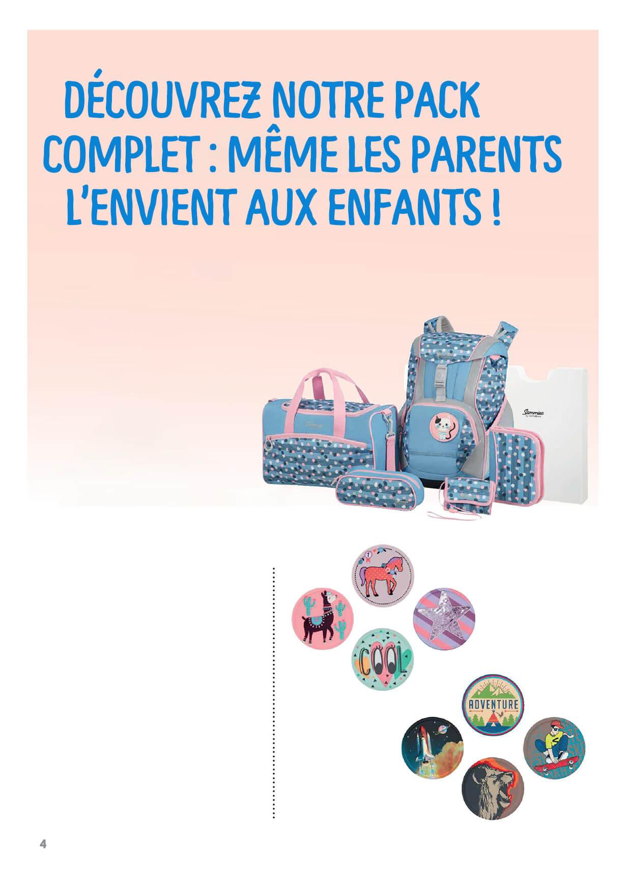 Découvrez notre pack complet : même les parents l'envient aux enfants !