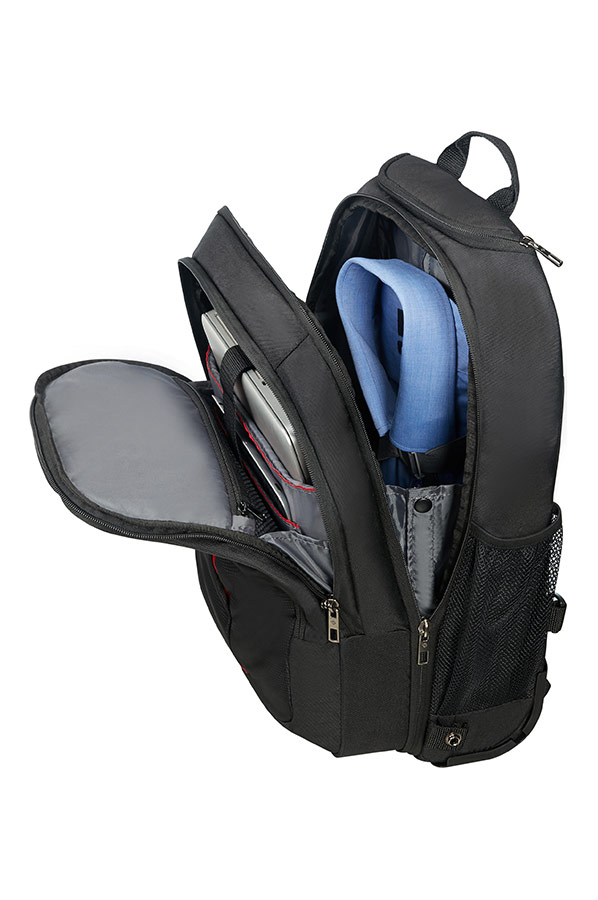 guardit laptop rucksack auf rollen 38 1 schwarz. Black Bedroom Furniture Sets. Home Design Ideas