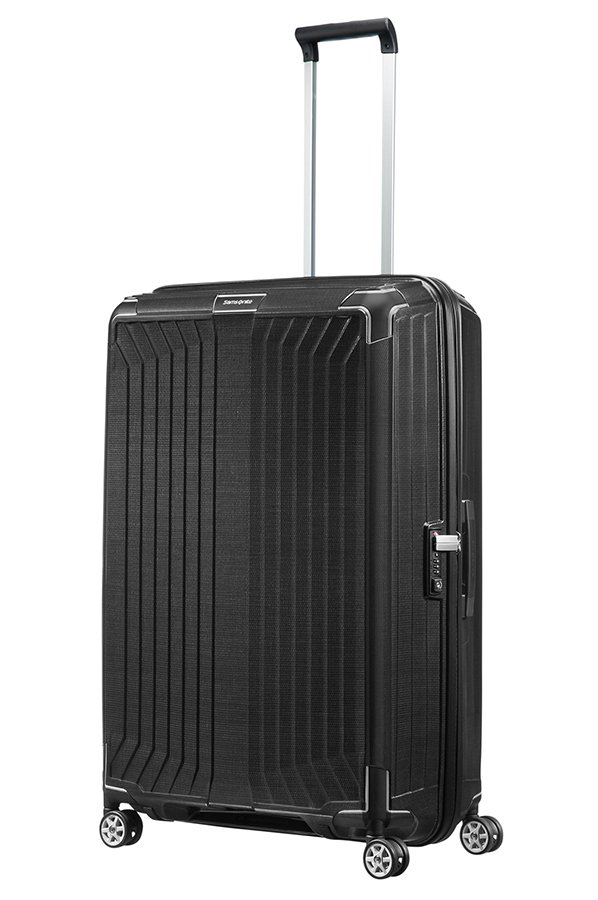 lite box trolley mit 4 rollen 81cm samsonite. Black Bedroom Furniture Sets. Home Design Ideas